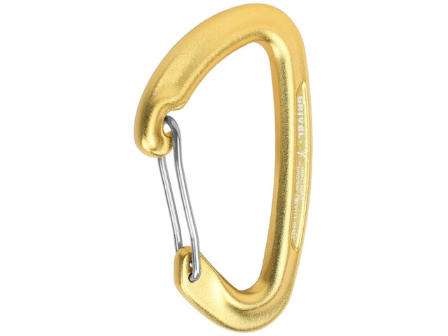 Grivel 24 Wiregate Carabiner, yellow